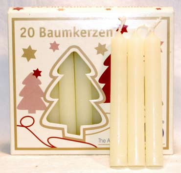 Ivory Chime Candle 20 pack