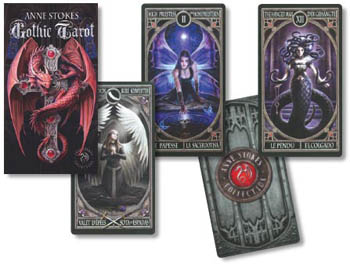 Gothic Tarot Deck by Anne Stokes