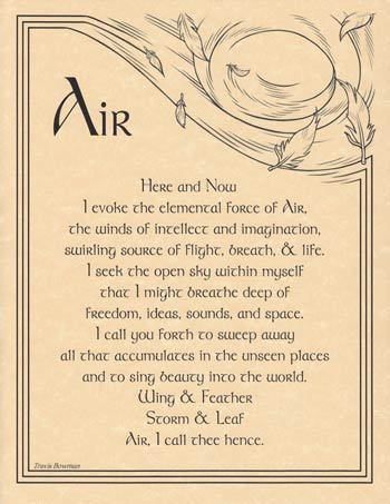 Air Evocation poster