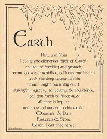 Earth Evocation poster