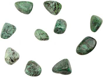 1 lb African Turquoise tumbled