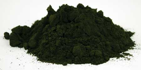 Chlorella powder 1oz 1618 gold