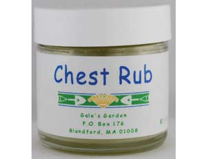Chest Rub Salve 1oz