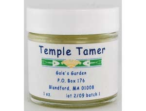 Temple Tamer Salve 1oz