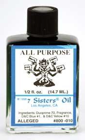 7 Sister`s All Purpose oil, 4 dram