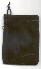 Black Velveteen Bag (3 x 4)