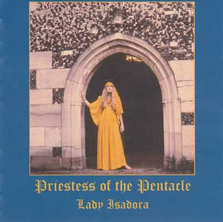 CD: The Priestess of the Pentacle by Lady isadora